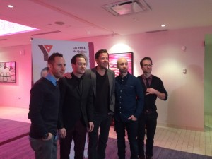 Photo du groupe Simple Plan (crédit photo: Diep Truong)